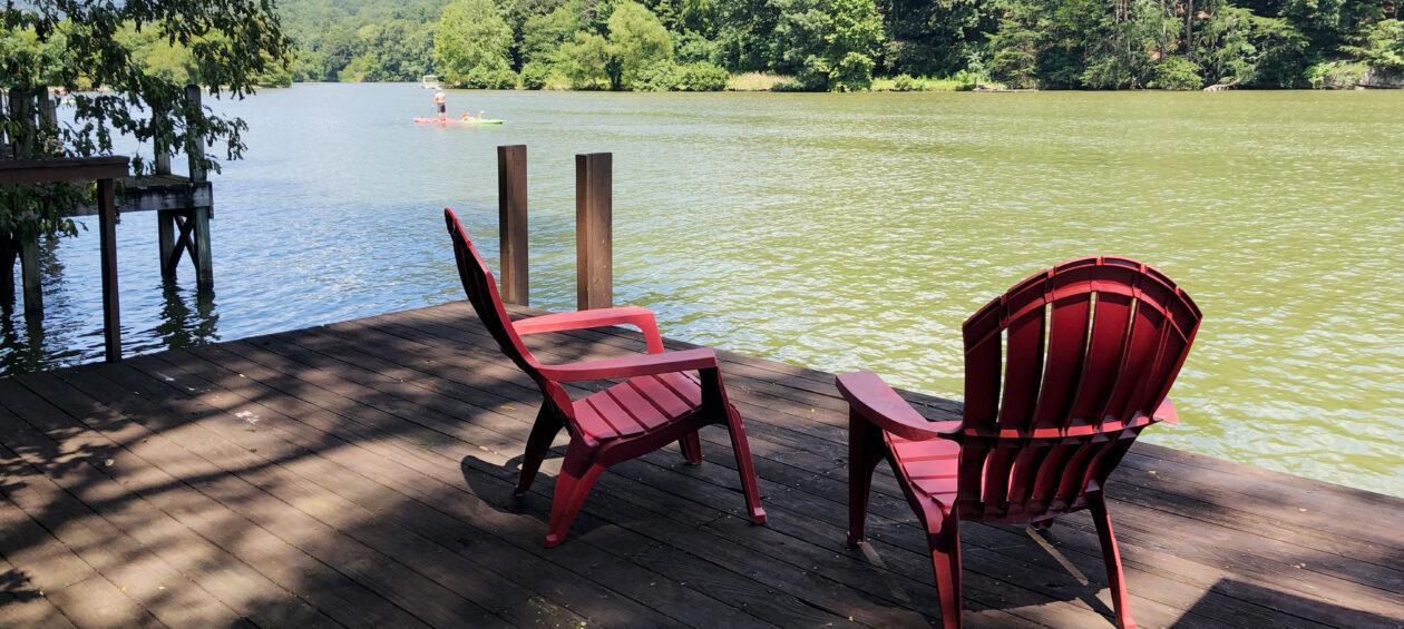 Lake Lure North Carolina Lakefront Vacation Rental House